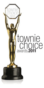 Dental Town Townie Choice Awards 2011 Trophy Logo
