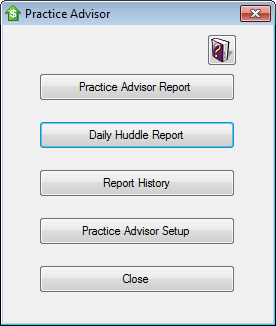 Practice Advisor Screenshot