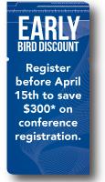 Early Bird Discount
