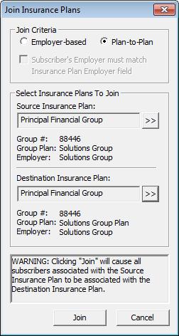 Join Insurance Plans