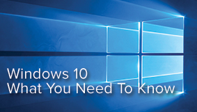 Upgrading to Windows 10 with Dentrix