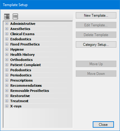 clinical notes template patient chart