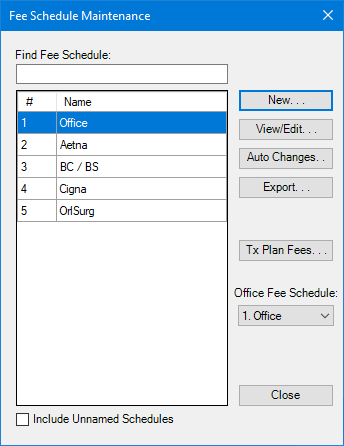 Office manager importing fee schedules pronofoot35fo Gallery