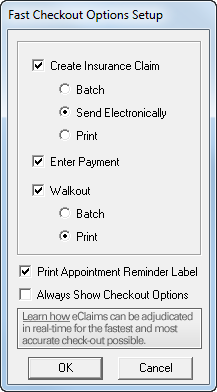 automating 3 common checkout tasks in the ledger dentrix